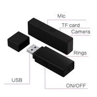 No Hole HD 1080P Usb Disk Spy Camera HD USB Flash Drive Nano nascosto Camcorder PC webcam webcam Recensione USB Card Recoder