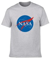 Wholesale Universe Factory - Factory direct U.S. National Aeronautics and Space Administration NASA space universe science fiction foreign trade round cotton men's T-shi