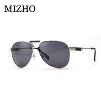 Wholesale Vacuum Frame - Wholesale- MIZHO Brand HD Visual Outdoor Travel Use Fishing Sunglasses Men Polarized UV400 Strong Stainless Steel Frame IP Vacuum Plating