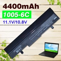 Wholesale Pc Battery Asus - Wholesale- Black 4400mAh Laptop battery for Asus Eee PC 1001HA 1001P 1001PQ 1005 1005H 1005HA 1005HAB 1005HAG 1005HE 1005HR 1005P 1005PE
