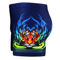 traje de deporte de lycra al por mayor-Hombres Troncos de Natación Nuevo Tronco de Natación Tigre de Impresión de Nylon Traje de Baño Moda Masculina Popular Equipo de Deporte Al Aire Libre 6 5bb