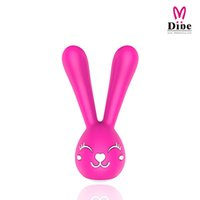 Dibe Rabbit Vibrator Секс-игрушки для пары для женщин 6 Kind Kind of Vibration Charge by USB Waterproof Sex Products Секс-машина Фетиш
