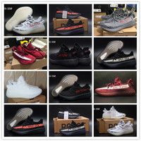 "Wholesale Baby Winter Body - ""Angel's Gift"" New SPLY 350 Boost V2 Boost For Baby Kids Children Kanye West Season 3 Boys Girls Classic Black Red White Black Size 9C-3Y"