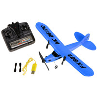 Wholesale Epp Planes - Wholesale- Blue FX803 RC Airplane Sea gull 2CH Remote Control Plane RTF EPP RC Glider Radio Control Model Airplane with Gyro BD