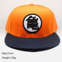 Wholesale Anime Cosplay Characters - Hot Anime dragonball super Z Cosplay Cap yellow Novelty cartoon ladies dress Hat charms Costume Props Baseball cap Famous Anime wholesale