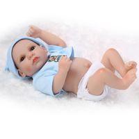"Wholesale Reborn Baby Preemie - 11"" Handmade Full Body Silicone Reborn Baby Doll boys Alive Preemie Newborn Birthday Gift"