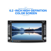 Wholesale Mp3 Touch Capacitive - Car DVD car player WINCE6.0 double din General car radio 6.2 inch display Capacitive touch screen