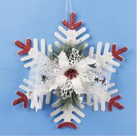 Wholesale Personalized Tissue Paper - Resin Hang Christmas Ornaments With Snowflake As Craft Souvenir For Personalized Gifts or Home Decoration Luxury Snowflake