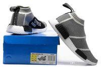 Wholesale Man City Socks - 2017 NMD Runner Primeknit pk City Sock black grey pink Men Women sneakers nmd Breathable Running Shoes NMD Sport Shoes boost eur 36-44