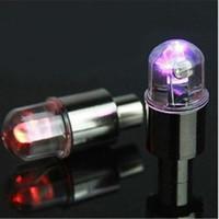 motorrad drl großhandel-Blinkende LED-Reifen-Licht-Fahrrad-Motorrad-DRL Auto-LED-Rad-Licht-Taschenlampe-Reifen-Reifen-Ventil-Lampe-Tagfahrlicht bunt / blau