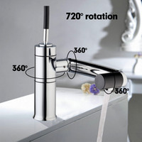 Single Hole special taps - Special New Kitchen Sink Swivel Temperature Sensor Chrome Tap Basin Deck Torneira Cozinha Mixer Faucet A