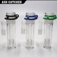 Wholesale Glasses Adjust - 2017 New ashcatcher Adjust Glass ash catcher 3 parts 18.8MM not glass bong free shipping