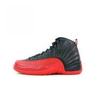 Wholesale Hard Nylons - High Quality Retro 12 2018 OVO Gym Red Wool Taxi Basketball Shoes Men Women 12s Flu Game Black Nylon PSNY Sneakers