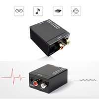 Digital Adaptador Optic Koaxial RCA Toslink Signal zum analogen Audio Converter Adapterkabel