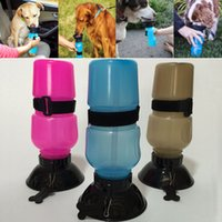 Wholesale Auto Dog Mug Puppy Cups Travel Walking Hiking Water Bottle Dispenser Feeder Dog Cat Drinking Bottle Color Have in Stock WX G04