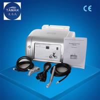ingrosso macchine di ossigeno portatile libere-Tamax Portable Water Oxygen Jet Peel Machine 2-in-1 99% puro ossigeno per il viso per il trattamento dell'acne Ringiovanimento della pelle DHL CE libero di trasporto