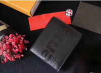 Wholesale Wallet Men Leather Large - luxary brand PF Slender Classic Men Wallet Genius Leather Designers Clutch Passcard Money Pocket Large Capacity Coin Purses