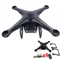 Wholesale plastic head gear for sale - Group buy Black Body Shell for DJI Phantom Vision and Quadcopter Spare Part DJI PTM08 Upper Lower Cover