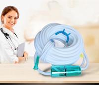 röhrengenerator großhandel-Yuwell Sauerstoff-Nasenkanüle Silikon-Nasenkanüle für Sauerstoffschlauch Nasalschlauch Sauerstoffkonzentrator Generatorzubehör CE FDA