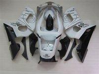 yamaha preise groihandel-Niedrigere Preise für Mototeilverkleidungen für Yamaha YZF R6 98 99 00 01 02, klassisches Verkleidungsset in Weiß und Schwarz, YZFR6 1998-2002, OT49