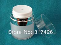 Wholesale Wholesale Airless Jars - Wholesale- 30ml airless jar,acrylic jar,cream jar,acrylic bottle
