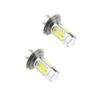 Wholesale H1 Cob Led - 7.5W DC12v White H7 H3 H1 H8 H11 9005 9006 881 5LED COB LED Lens Turn Signal Brake Stop Fog 2PCS JTCL009-1-ly