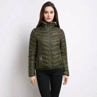 Wholesale Denim Jacket Hooded - 2017 New Outdoor fashion brand women napapijri hooded down jacket lightweight portable loose jacket women napapijri down jacket