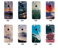 Handy-Etuis für Apple iphone 6 6S plus iphone 7 plus SE Silikon Fall Landschaft Überzug TPU Elizabeth Turm Big Ben Eiffel