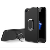 Wholesale Car Lite - TPU Car Holder Case Magnetic Suction Bracket Stand Cover for iPhone X 8 7 plus Samsung Note8 S8 plus Huawei P10 Lite OppBag