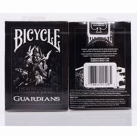 Wholesale Magician Cards - Theory11 Bicycle Guardians Playing Cards 88*63mm Magic Category Poker Cards for Professional Magician
