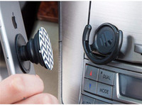 Wholesale Car Phone Mount Wholesale - Universal Pop clip and Pop socket Car phone holder Finger Grip Expanding Stand Tablets Stent Mount Mobile Holder OEM DIY Picture with Pack