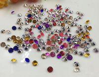 ingrosso dispersione della tabella dei cristalli del diamante di cerimonia nuziale-10000pcs 4mm misto acrilico diamante confetti festa di nozze tavolo scatter decorazione di cristallo