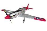 Wholesale Airframe Kit - Wholesale- RC Warbird 1200mm P51 Mustang Airframe Kit without Electronics