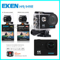 Wholesale action sports bike for sale - Original EKEN H9 H9R action camera K wifi Ultra HD p fps P FPS Go waterproof mini cam pro bike video sports camera
