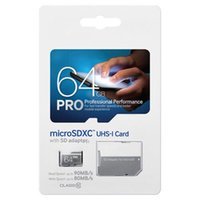 Wholesale 64gb Sd Card Pro - 2017 Best Selling TF Card 128GB 64GB EVO PLUS PRO 128GB Micro SD SDHC SDXC 80MB s UHS-I Class10 TF Card