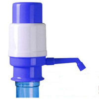 Wholesale New Drinking Hand Press Pumps - Wholesale- New Bottled Drinking Water Hand Press Pressure Pump Home Outdoor Office Camping Self-driving Travel Water Hand Pump Manual