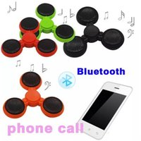 Wholesale Dora Toys Plastic - 2017 Newest Version LED bluetooth Phone Calls Function audio Music Hand Spinner Fidget Spinner Plastic Toy For Decompression from dora