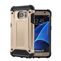 fälle für sumsung groihandel-Heavy Duty Rüstung dünne harte Tough Rubber Cover Silikon Phone Cases für Sumsung S7 S7 Rand S8 S8 Plus
