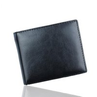Wholesale purse closures - New Arrivals Trendy Short PU Leather Smooth Wallets Open Closure Type Credit Card Holders Inside Hasp Coin Purse Notecase for Men
