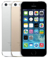 "Wholesale Dual Core Ips - Refurbished Apple iPhone 5S Without Fingerprint Unlocked Cell Phone 64GB 32GB 16GB iOS 8 4.0"" IPS HD A7 8MP"