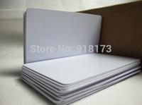 Wholesale printable blank cards for sale - Group buy Inkjet Printable blank PVC card for Espon printer for Canon printer