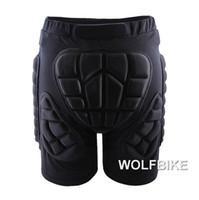 Wholesale Padded Snowboard Pants - WOSAWE Winter Sports Skiing Shorts Protective Hip Butt Bottom Padded Amour for Ski Snow Skate Snowboard Pants Protection