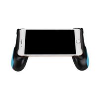 ручные стенды оптовых-Ручка джойстик игровой контроллер случае пластиковый материал рукоятка ручка стенд джойстик стенд чехол поддерживает 4.5-6.5 дюймов смартфонов