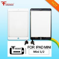 OEM de alta calidad A +++ para iPad Mini 1 2 Pantalla táctil de cristal con / sin Home Button IC Full Assembly Fábrica de suministro
