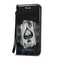 Wholesale Leather Wallet Case S3 Magnetic - Waterproof 3D Magnetic Close Skin Case For Samsung Galaxy S3 S4 S5 S6 S6 Edge A3 A5 Shell PU Leather Stand Wallet With Card Slots Rope Cover