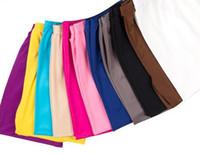 Wholesale Sexy Cropped Capri Pants - Wholesale- New 2015 Summer sexy thin Women 3 4 Length Cropped Basic Leggings Capri Pants