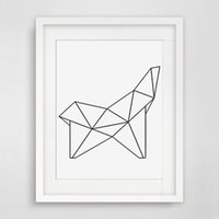 Wholesale Wall Art Quotes Canvas - Decorative Poster Geometric Figure Wall Poster Kid'room Decor Quote Canvas Art Print Poster Wall Pictures No Framed