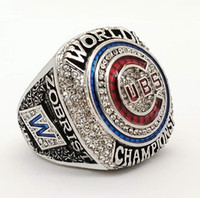 Wholesale Silver Ring Free Dhl - New design 2016 Chicago Cubs world ZOBRIST Championship Rings size 6-15 (More than 20pcs DHL free shipping)