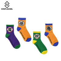 Wholesale Dragon 35 - 35-43 Socks Eternal Dragon Ball Wukong seven cartoon fun film Master Roshi Son Goku tortoise Dumpling Ox-King Gyuumaou Kakarotto