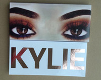 Wholesale Eye Shadow Pen Makeup - 2017 kylie Newest The Royal Peach Palette with pen Cosmetics Burgundy Eyeshadow palette Kylie Jenner Eye Shadow Makeup
